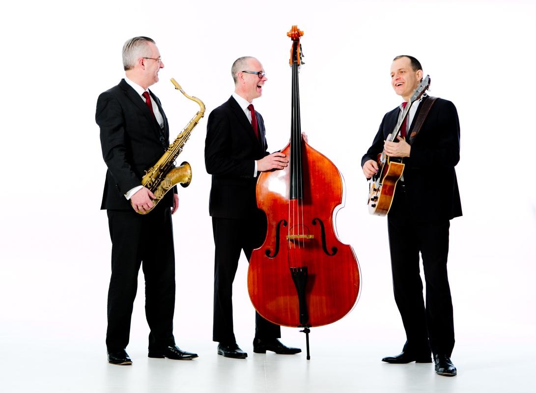 Jazz band voor receptie, bruiloft en diner | Ascot Jazz Trio