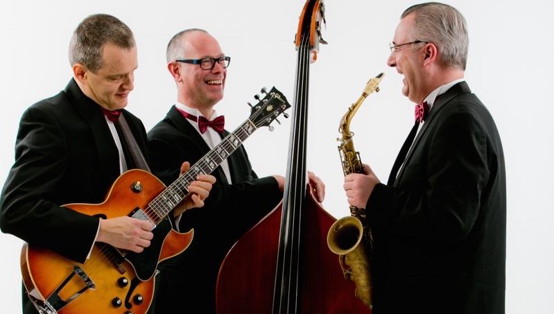 Jazz band voor receptie, bruiloft en diner - Ascot Jazz Trio