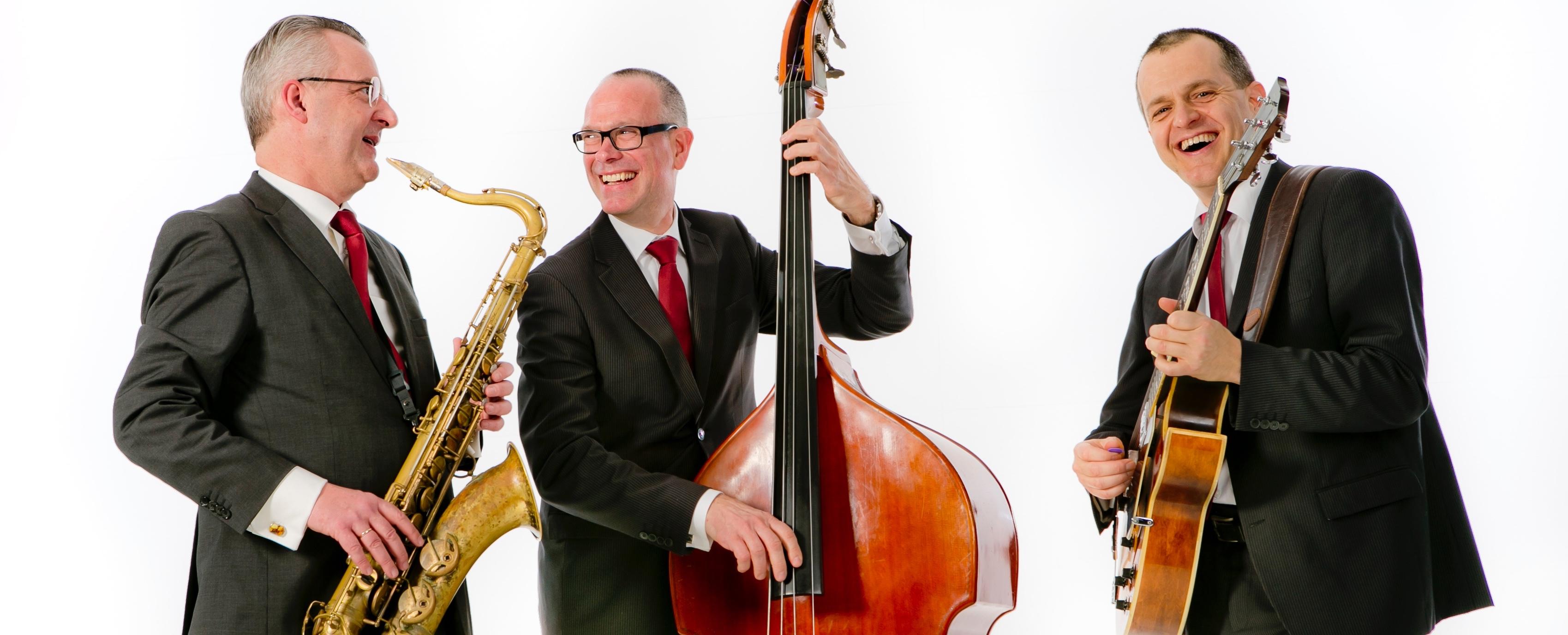 Ascot Jazz Trio | Jazztrio voor Achtergrondmuziek